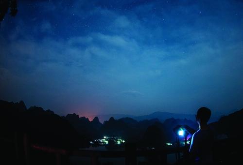 16岁少年用相机记录桂林绝美瞬间