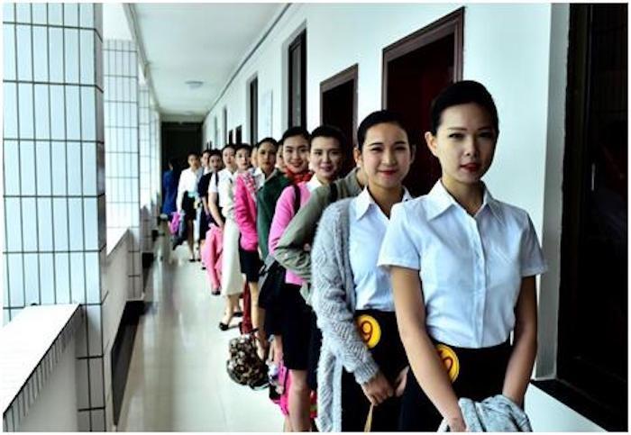 2015年11月 桂林航空首批空乘人员(资料图片).jpg