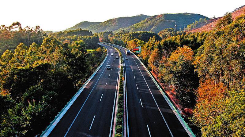 南寧繞城高速玉洞至安吉段改造完成通車