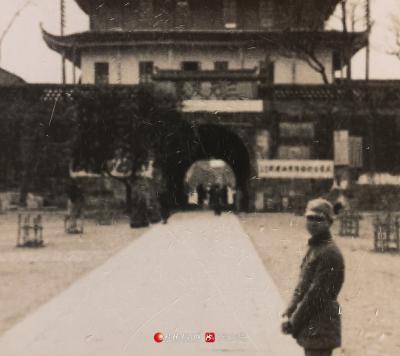 抗战时期的正阳门