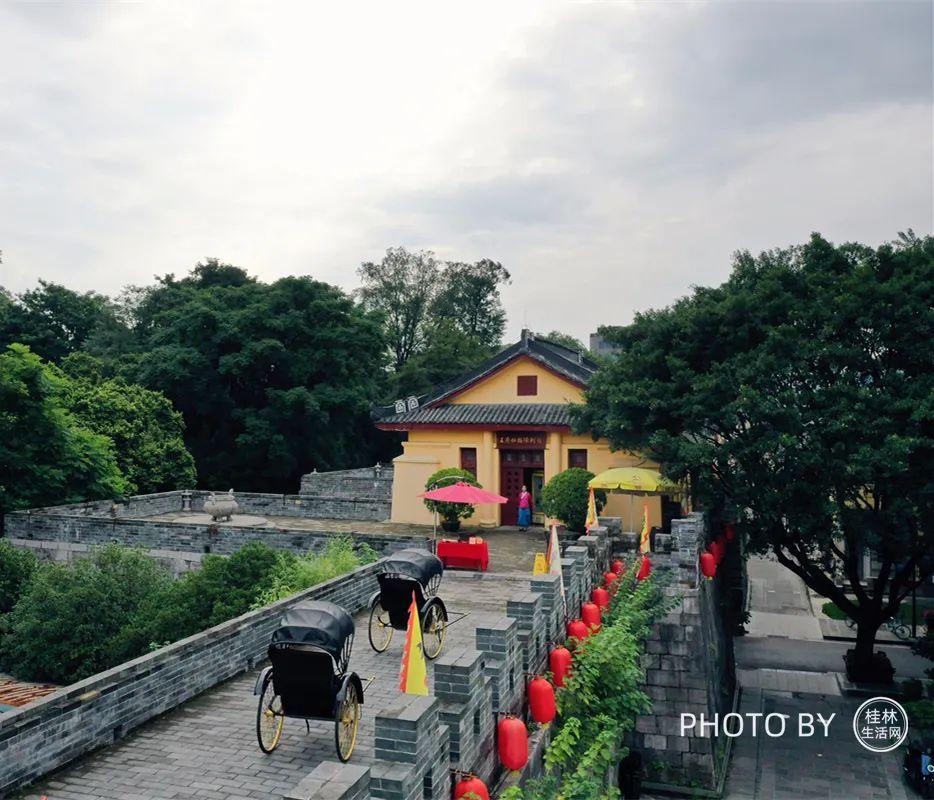 桂林靖江王城古城墙首次对外开放!市民可凭身份证…
