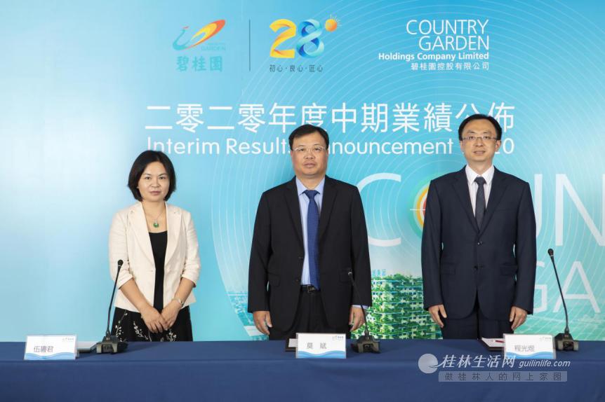 碧桂园半年净利润219.3亿,经营风格更趋稳健高质