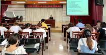 桂林市中西医结合医院组织新员工开展廉政风险防控培训