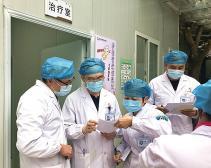 市中西医结合医院筑牢防控屏障 加强疫情常态督查