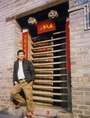 2004年阳朔兴坪渔村。