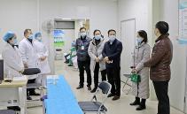 市卫健委主任蒋平华到中西医结合院检查新冠疫情防控工作