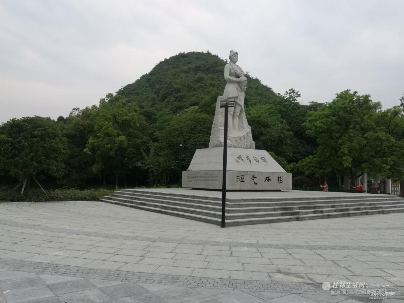 桂林这个公园没多少人来,太遗憾了!