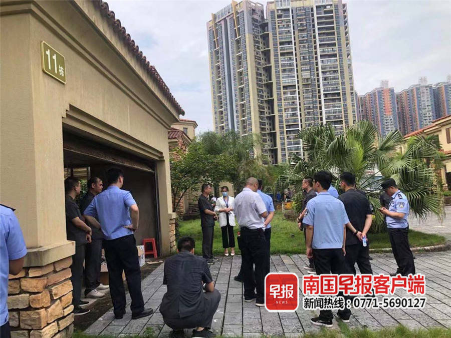 某公司位于靈川14棟別墅被拍賣