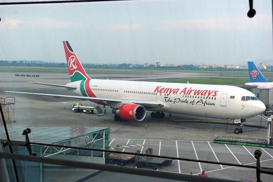 桂林出发时乘坐的是南方航空公司的波音737飞机