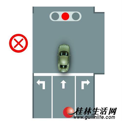桂林交警详解新交规闯红灯、闯黄灯界定标准(