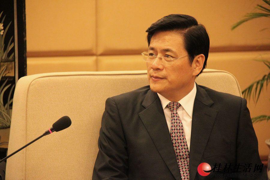 桂林市市长李志刚。