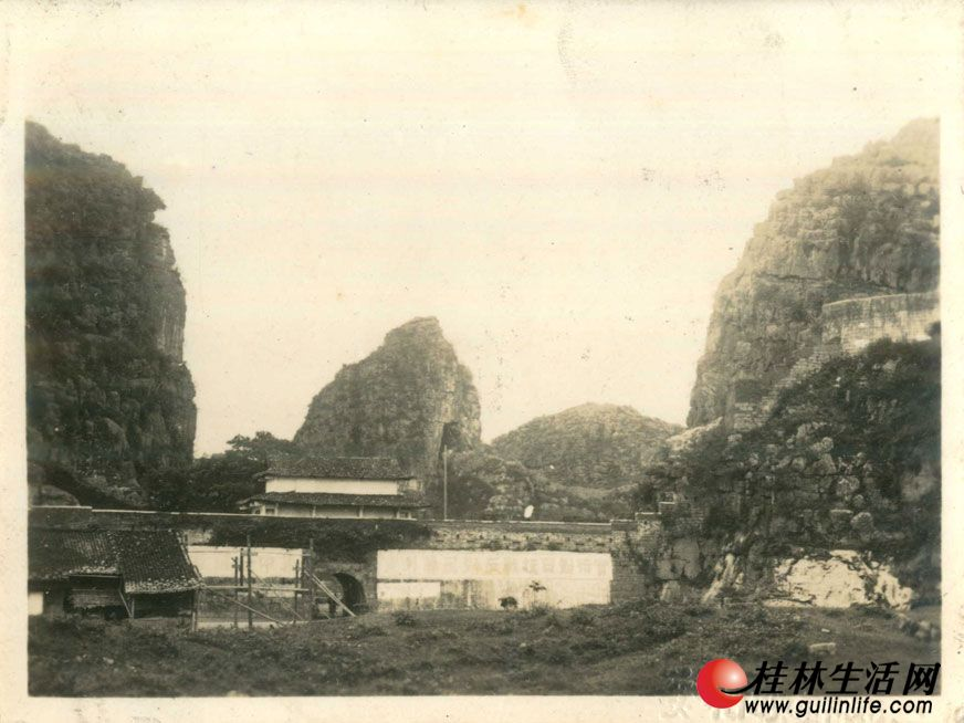 老照片:旧时的桂林城郭(组图) - 桂林风景图片 - 图片