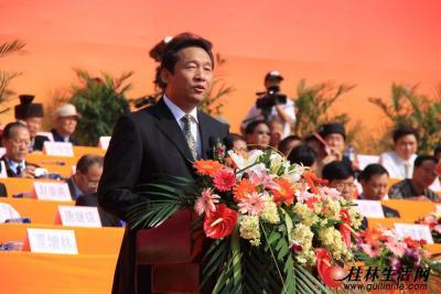 桂林市代表团团长、市委书记、市人大常委会主任刘君讲话