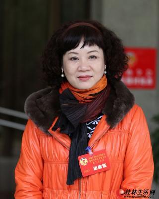 罗宁娜。记者何平江 摄