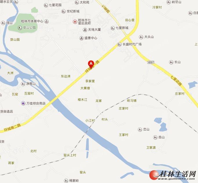 桂林高新万达广场位置图