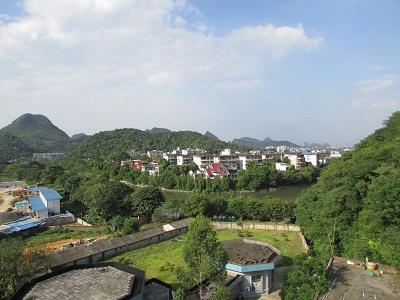 桃花江全景图