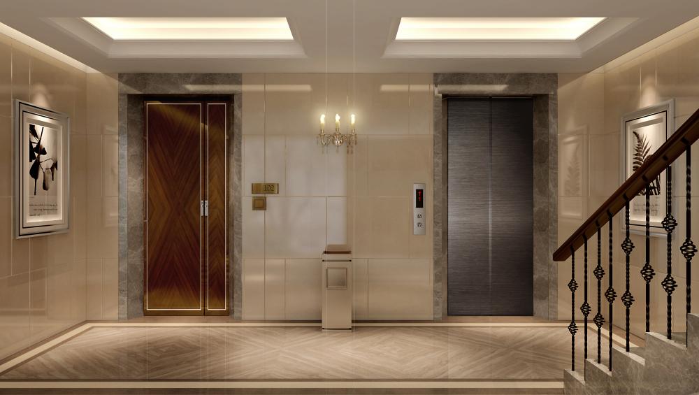 入户大堂电梯厅