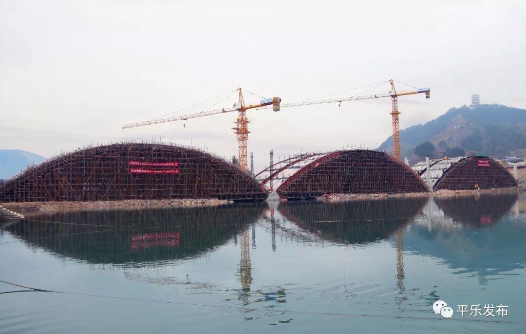 4月底平乐茶江风景桥将基本通行!