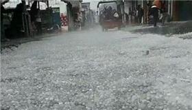 冰雹突袭!广西多地区遭遇恶劣天气
