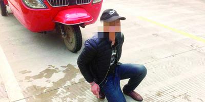 三轮车被盗民警追70公里抓贼