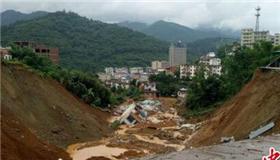 广西暴雨袭击20栋房屋倒塌或被掩埋