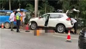 突发!男子清晨开车撞到绿化工人致2死8伤