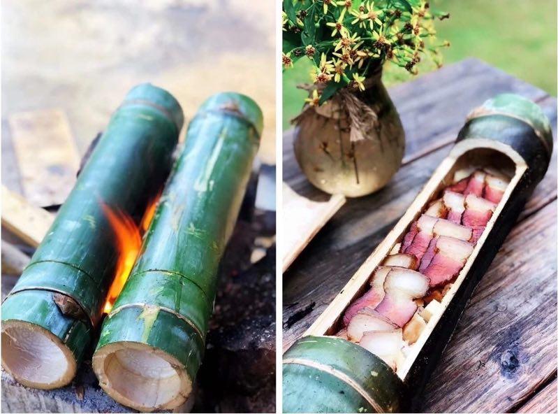 免费农庄体验活动:来农庄做竹筒饭、烧烤、摘菜呀~