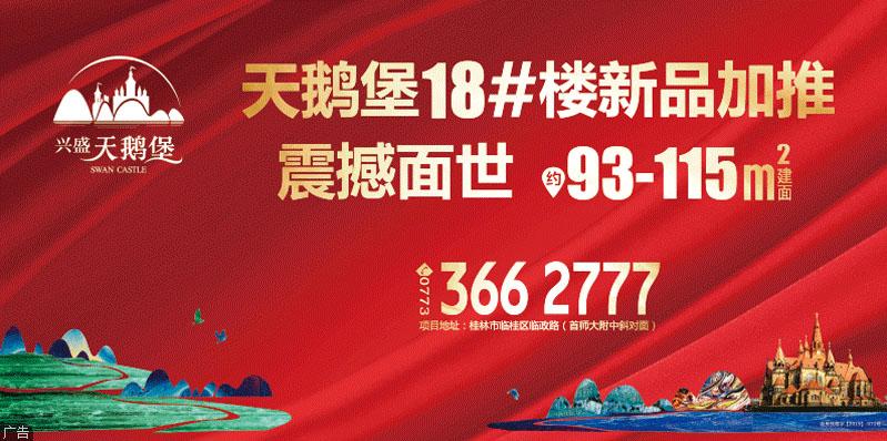 【兴盛·天鹅堡】110米超宽楼距美景