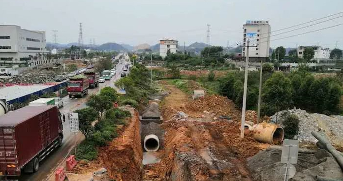 临桂新区这条交通大动脉正加快建设