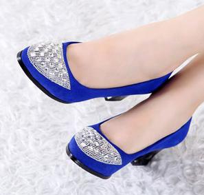 秋款欧美韩风优雅鞋