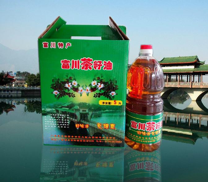 纯正茶籽油 养生保健 食用油 东方橄榄油2.5L*2礼盒包装