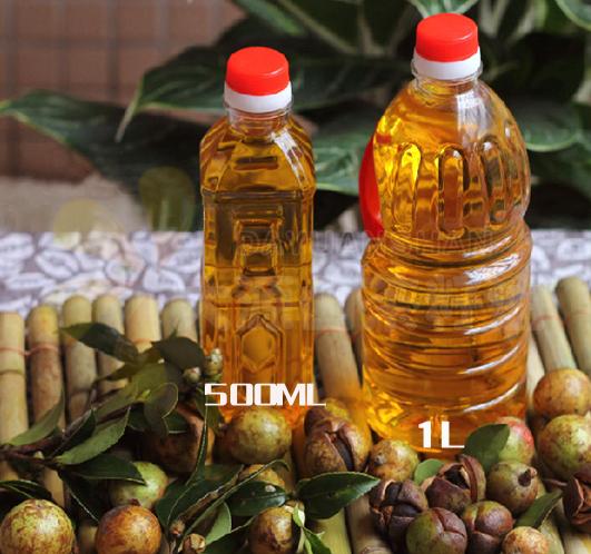 自家压榨100%纯天然茶籽油  孕产妇护肤 月子油1L/500ML