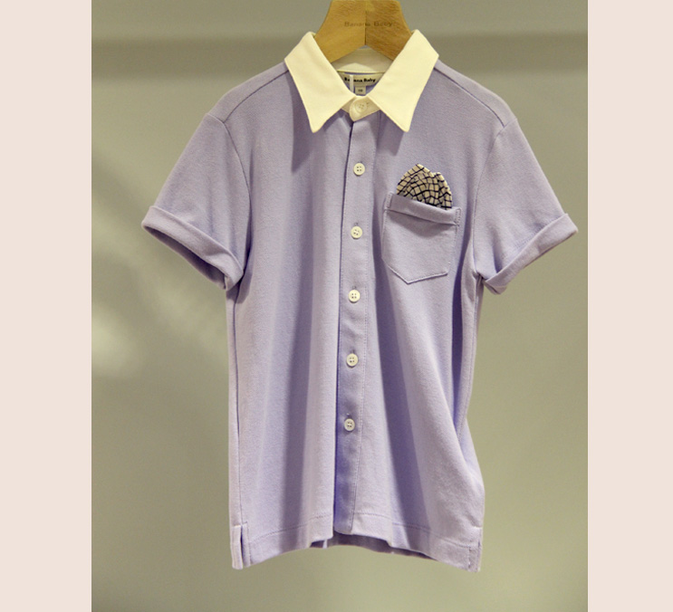 男童?#37319;?#30701;袖T恤