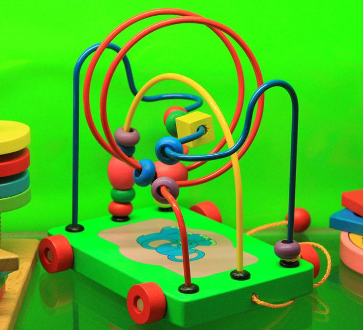 串珠绕珠玩具2
