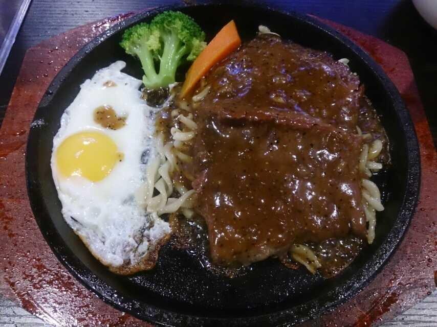 台湾美食夜市牛排