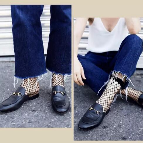 一双短袜高级时尚