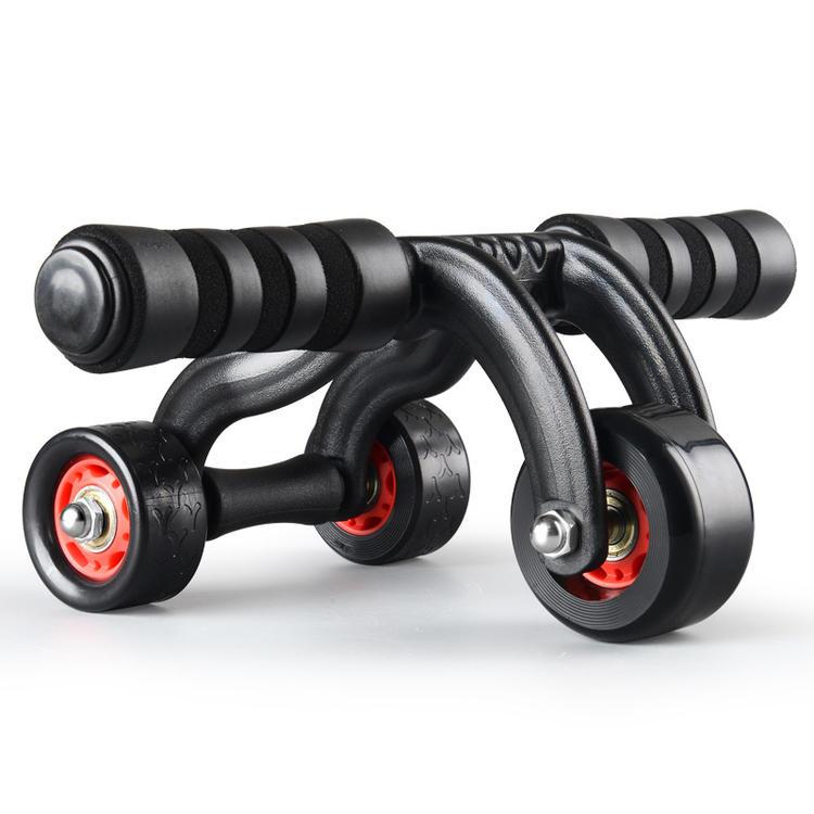 健腹轮 腹肌轮健身器材 家用多功能三轮健身器运动滚轮健身轮巨轮