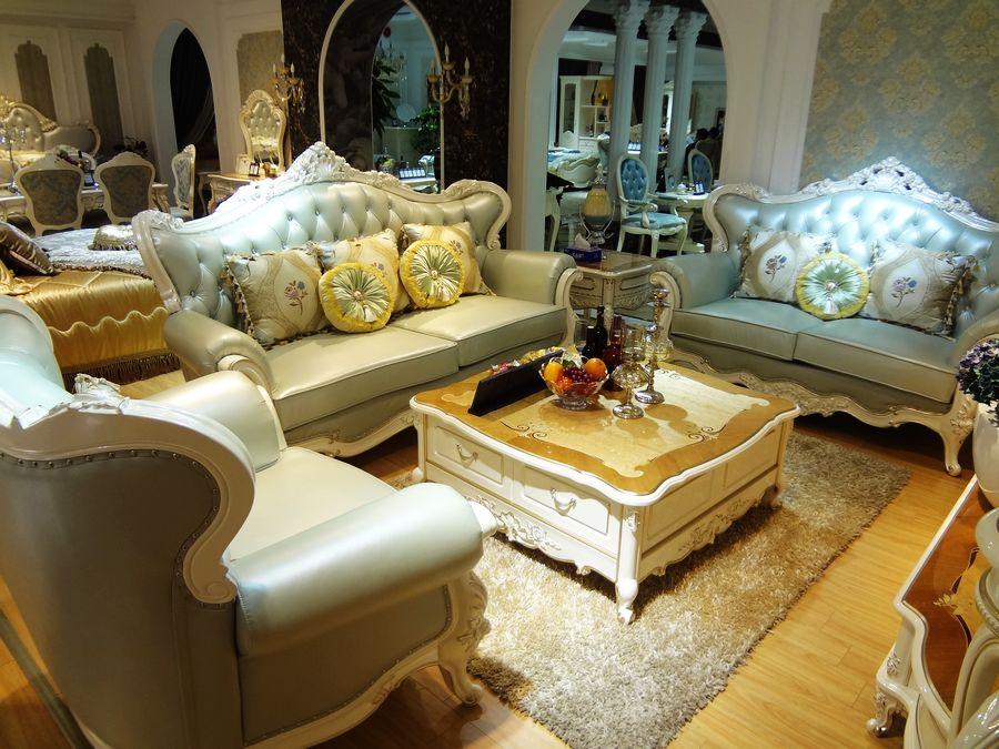 赛琳玫瑰欧式沙发