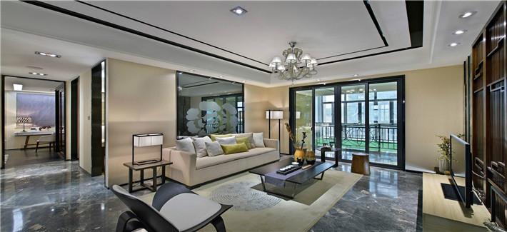 现代感兼具古典,温暖随意又不失典雅气质的家居空间
