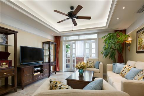 温暖的米黄色,轻松营造舒适柔和的家